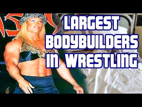 Top 5 Biggest Female Bodybuilders & Fitness Models in Wrestling History
