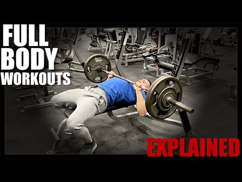 Full Body Workout Routine For Beginners | 3 Days A Week | Explained