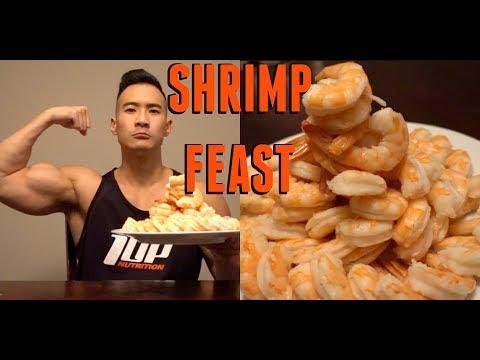 Full Day of Eating | JUMBO Shrimp Mountain