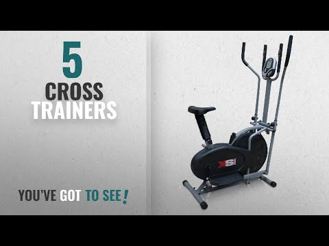 Top 10 Cross Trainers [2018]: XS Sports Pro 2-in1 Elliptical Cross Trainer Exercise Bike-Fitness