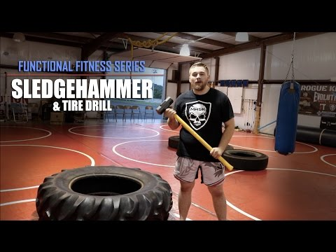Functional Fitness Series | Tire & SLEDGEHAMMER Workout – HIIT