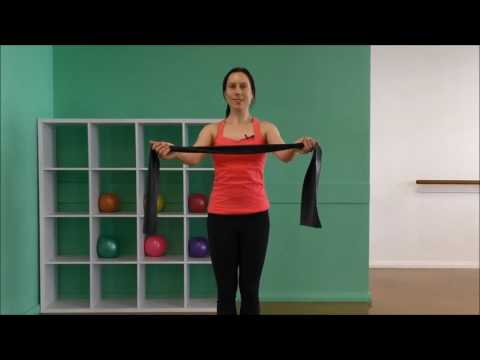 12 Minute Theraband Shoulder & Back Strength Workout