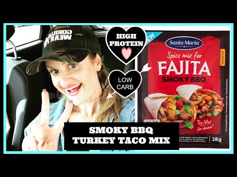 TURKEY TACO FILLING RECIPE– With Simple and easy variations for high protein meals on the go