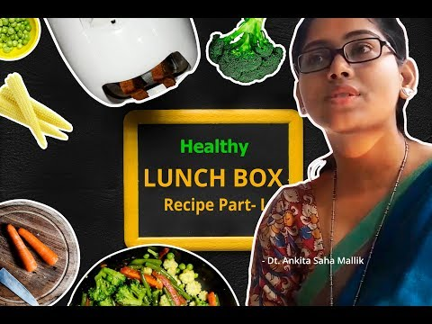 HEALTHY LUNCH RECIPE FOR OFFICE | EASY LUNCH TIPS FOR OFFICE PART 1