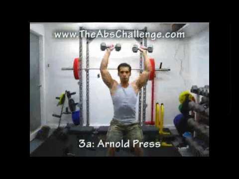 Natural Bodybuilding Workout Program for Beginners – week 3 of week 16