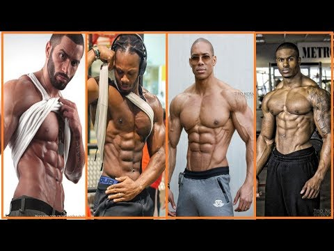 ABS Workout Motivation Compilation 4 Aesthetic Fitness Models [2017]