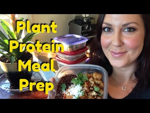 Vegan Meal Prep | PLANT PROTEIN PACKED | Vegan Post Workout Meals