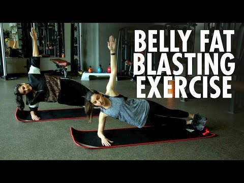 Get Abs Like Katrina Kaif! Lose Belly Fat Fast With This Intense Ab Workout | Ambika Anand
