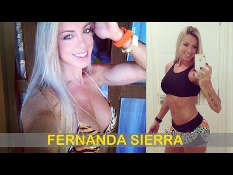 FERNANDA SIERRA: Fitness Model: Exercises and workouts @ Brazil