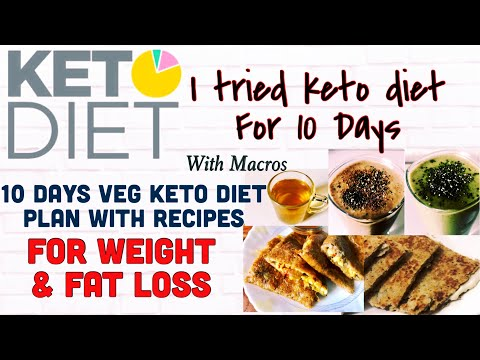 I Tried KETO Diet | 10 Days Indian Veg Keto diet Plan | Macros & Recipes | Weight / Fat Loss | Hindi
