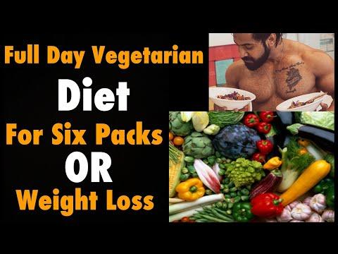 Full Day Vegetarian Diet for Six packs  weight Loss   Eat Healthy  Bodybuilding Motivation  Rajveer
