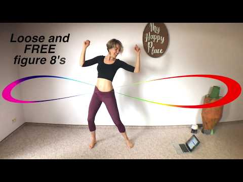 14-min Hip Figure 8 Workout | Fun Standing Ab Exercises