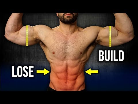 How to Build Muscle AND Lose Fat At The Same Time (MY SIMPLE STRATEGY!!)