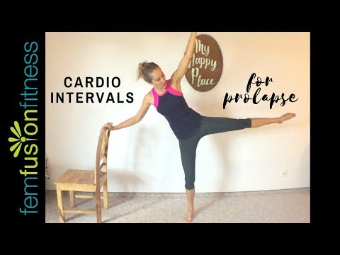 Low Impact HIIT Cardio for Prolapse (Beginners)