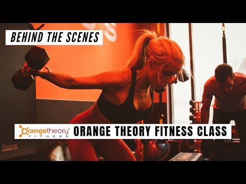 What to expect at an Orange Theory Fitness Class