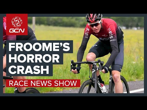 Chris Froome's Horror Crash Overshadows The Dauphiné | The Cycling Race News Show
