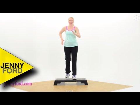 Beginner Step Aerobics Fitness Cardio — JENNY FORD