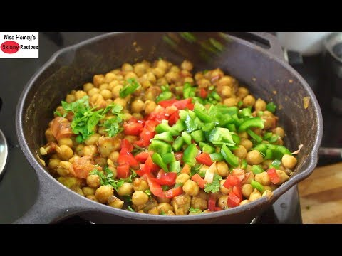 Healthy Chickpea/Channa Salad Recipe For Weight Loss -Easy