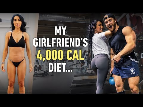 Why Is My Girlfriend Eating 4000 Calories A Day?   Couple's Leg Workout