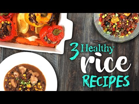 3 Healthy RICE Recipes | Clean Eating | Joanna Soh