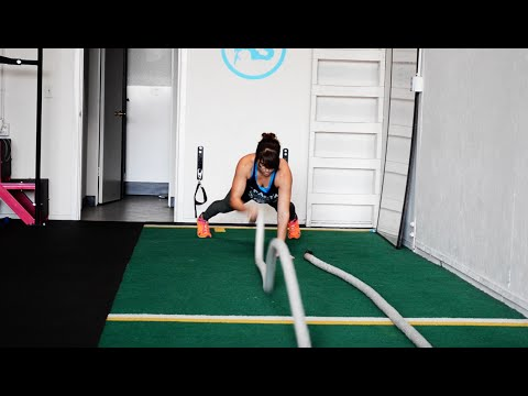 Battling Ropes Exercises – 22 Battling Ropes Moves and 5 Workouts