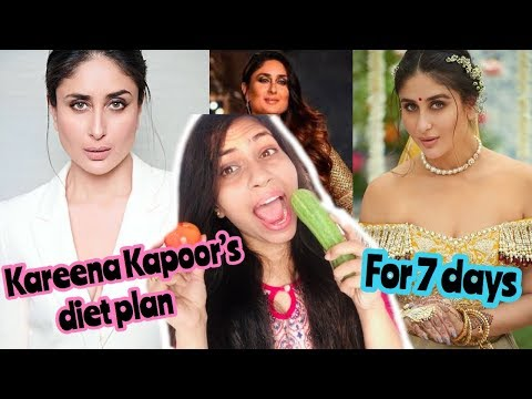 I followed Kareena Kapoor diet plan for a week | Azra Khan Fitness