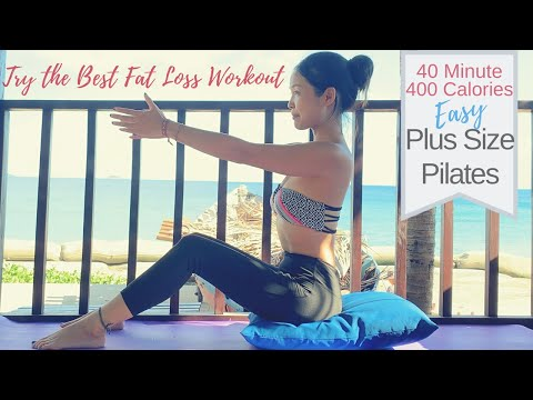 Best Plus Size/ Beginner Pilates For Fat Loss |  Full Length Total Body Pilates Mat Class On Request