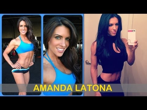 AMANDA LATONA: IFBB Bikini Pro (Fitness Model): Routine Sportive, Exercises and workouts @ USA
