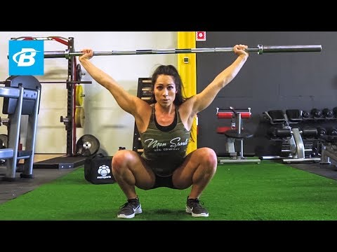 How to Power Snatch /w Exercise Progression | Bree'Anna Lucero