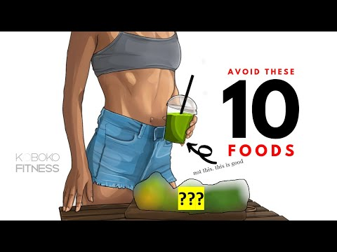 10 Main Foods to AVOID to Lose Belly Fat // Health Tips