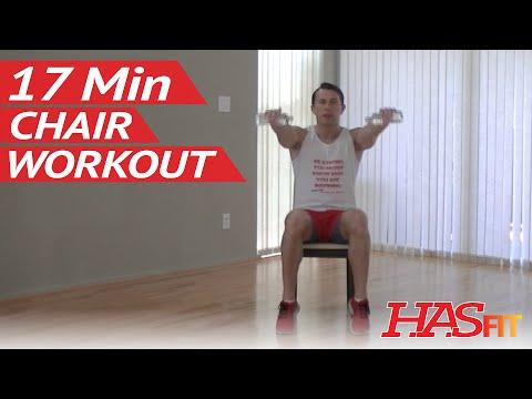 17 Min Chair Exercises for Seniors & Beginners – HASfit Senior Exercises for the Elderly Workout
