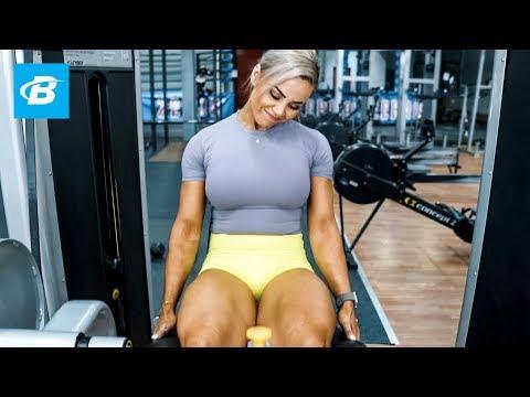 High Volume Lower Body Workout   Stephanie Sanzo, aka StephFitMum
