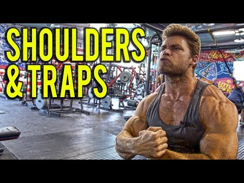 SHOULDERS & TRAPS DUMBBELL ONLY WORKOUT (at home or gym
