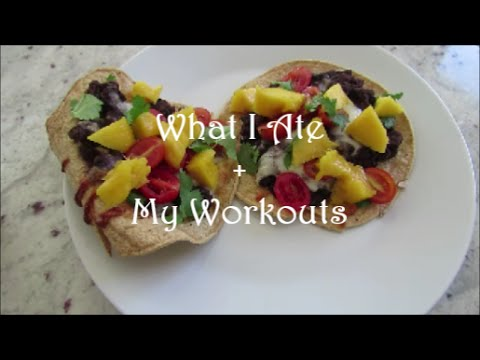 What I Ate and My Workouts | Fitness Motivation