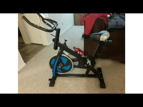Nexttechnology Exercise Bike Stationary Bicycle Home Fitness Gym Cycle Indoor Workout Equipment w..