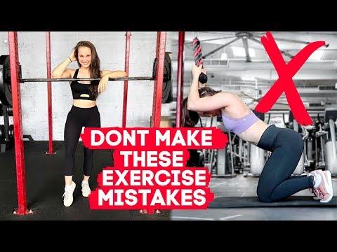 7 BIGGEST WORKOUT MISTAKES | Beginner Exercise Tips + Fitness Motivation