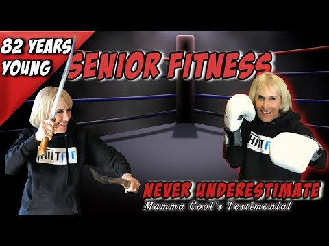 Senior Fitness: 82 YEARS OLD – Best Testimonial on Training – Exercise & Working Out