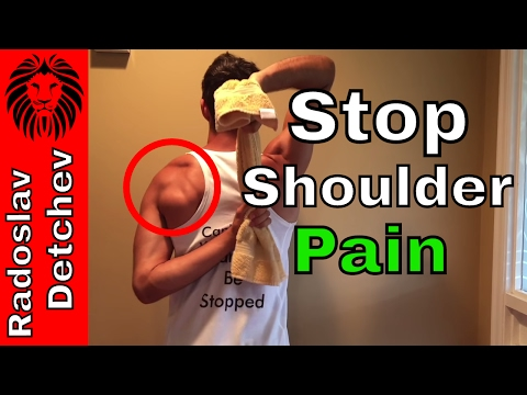 How to Get Rid of Shoulder Pain – 5 Exercises to Fix Your Shoulders