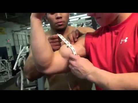 HD Muscle Teen bodybuilder Cody Montgomery 18 inch biceps