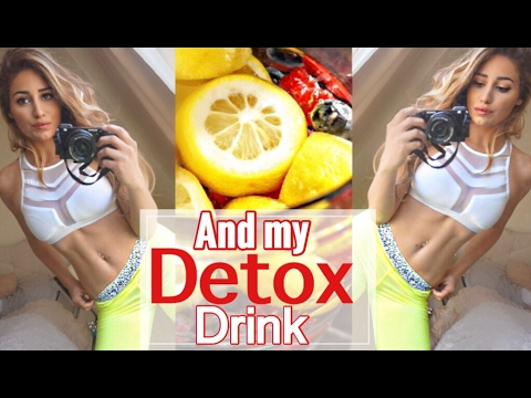 Get FIT+ HEALTHY in SCHOOL! + DETOX DRINK for water weight