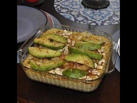 KETO RECIPE—– chicken avocado casserole