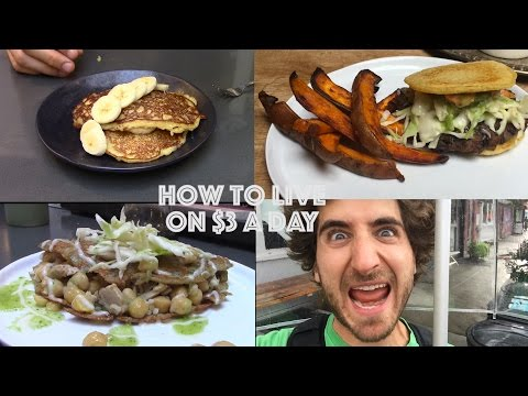 How To Live On $3 a Day | One Dollar Meals | Day One |