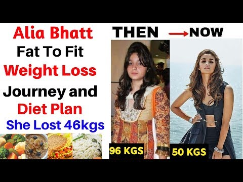Alia Bhatt Diet Plan For Weight Loss हिंदी में| How to Lose Weight Fast 10kgs | Celebrity Diet