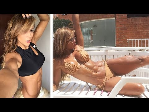 SONIA ISAZA – Fitness Model: Extreme Ripped Body Workouts @ Colombia