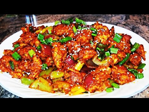 Chilli Chicken Dry Recipe – How To Make Chilli Chiken By Home Kitchen Video