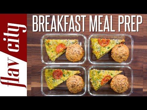 Healthy Breakfast Meal Prep – Weekly Meal Prep