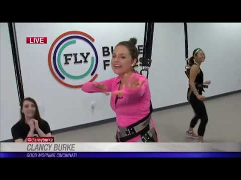 Fly Bungee Fitness offers low-impact, high energy exercise