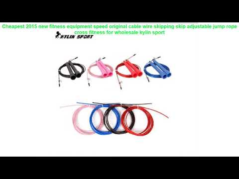 Cheapest 2015 new fitness equipment speed original cable wire skipping