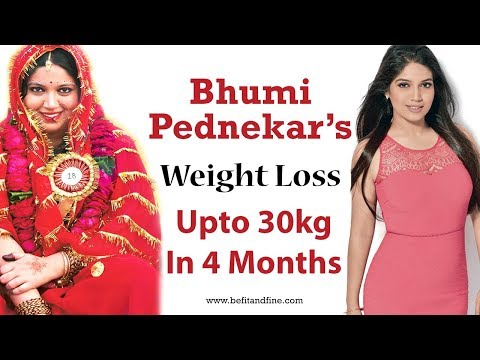 Bhumi Pednekar Weight Loss Secret | Diet Plan And Workout Tips
