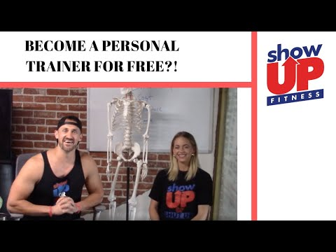 How to become a trainer for FREE | Show Up Fitness Internship